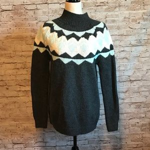 Banana Republic mock turtleneck sweater